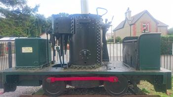 llanfair - This De-Winton engine was used on the top Quarry for the movement of stone sets and chippings. 'Llanfair' can be seen on the Welsh Highland Railway, the engine is on display at Dinas station and is currently a static display in the open air.